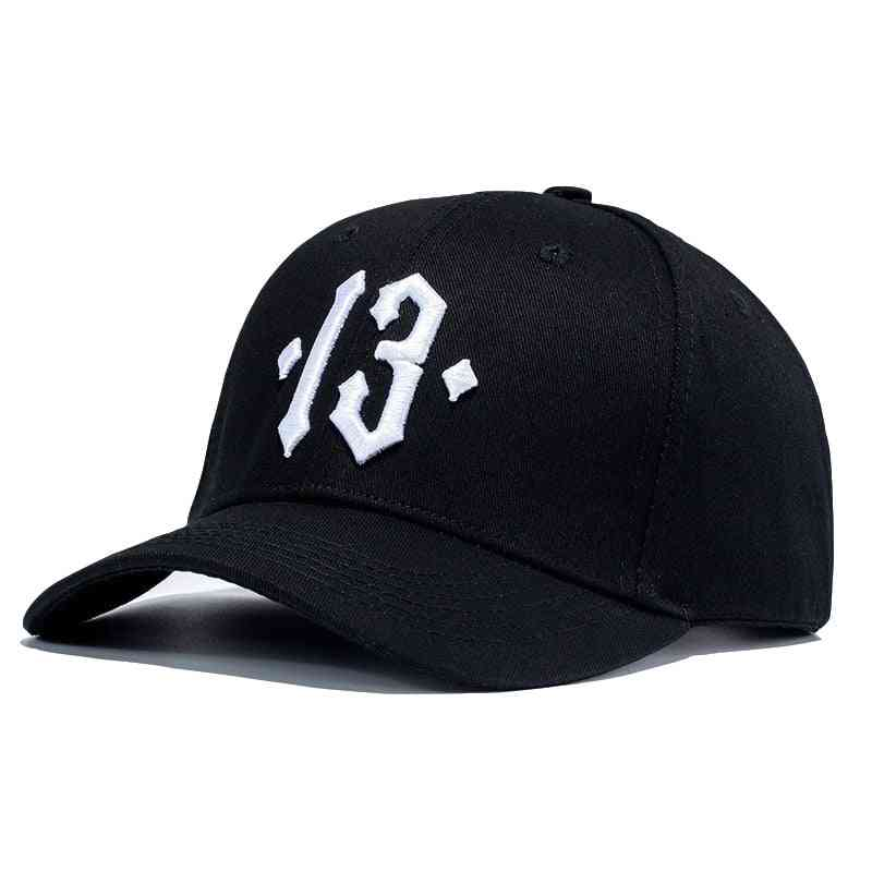 High Quality Number Embroidery Baseball Cap