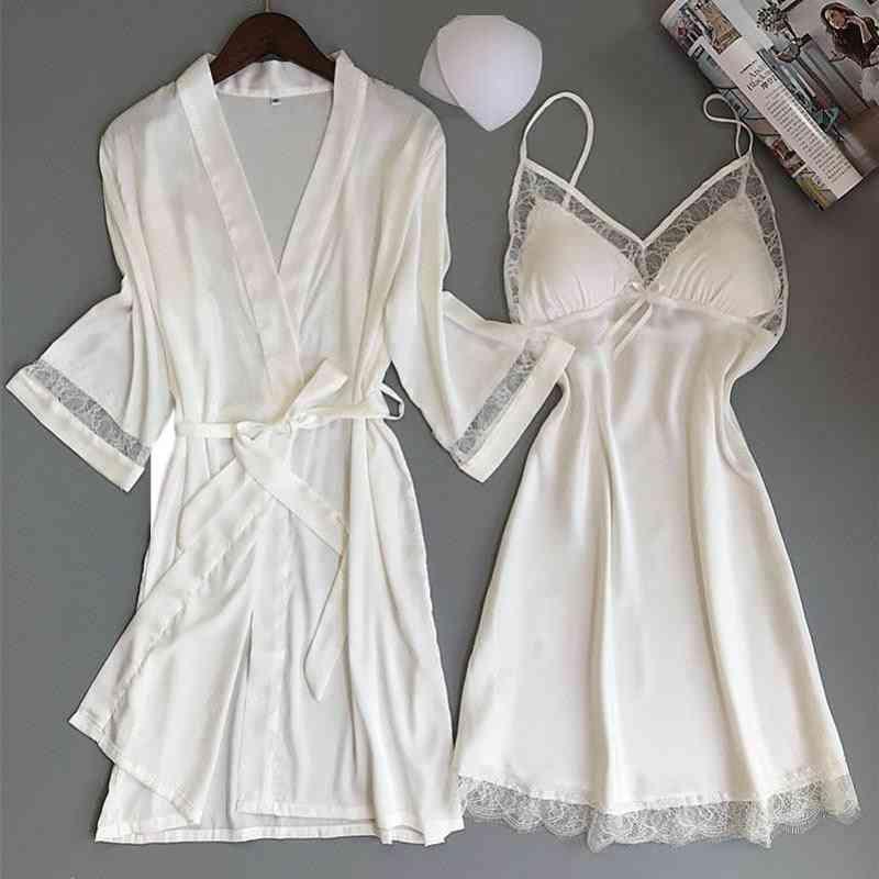 Rayon Kimono, Bathrobe Casual Nightwear, Sleepwear