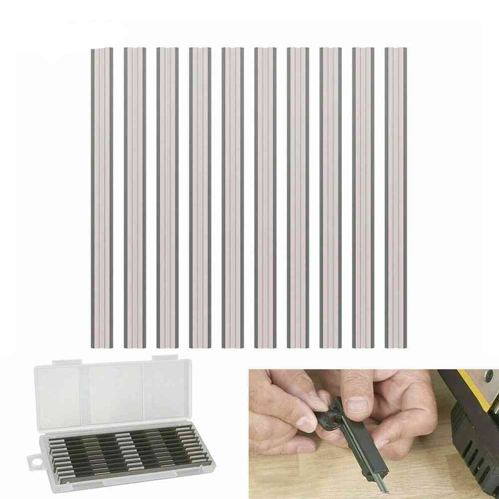 Reversible Electric Planer Blades Boxed Hss For Power Tools Grinders