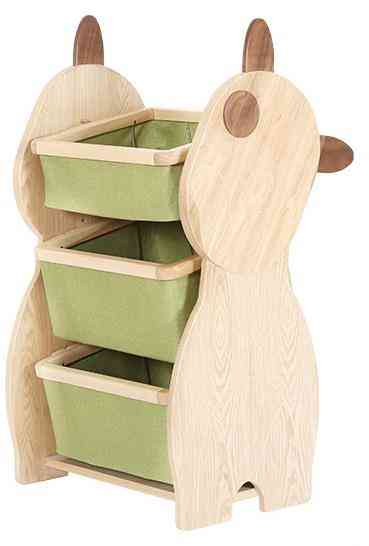 Lovely Cute Wood Cabinet Storage Rack For