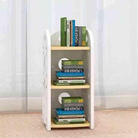 Minimalist Modern, 4 Layered Toy/books Wooden Rack