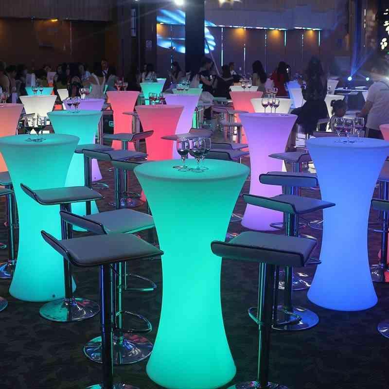 Led Luminous High Bar Table & Chair