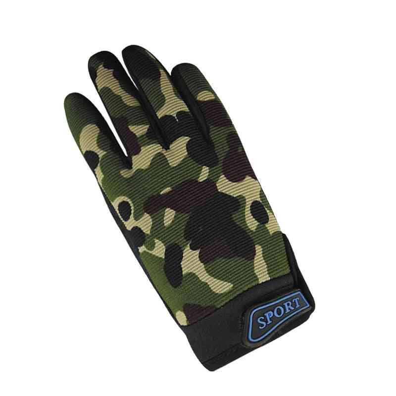Camouflage Army Green Full Finger Gloves