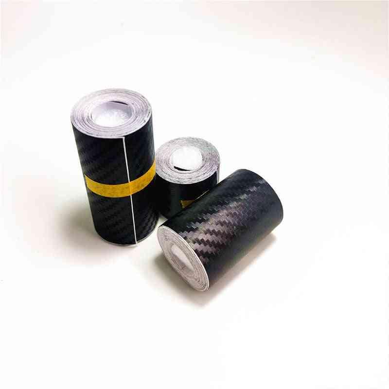 Nano Carbon Fiber Car Sticker, Diy Paste Protector Strip