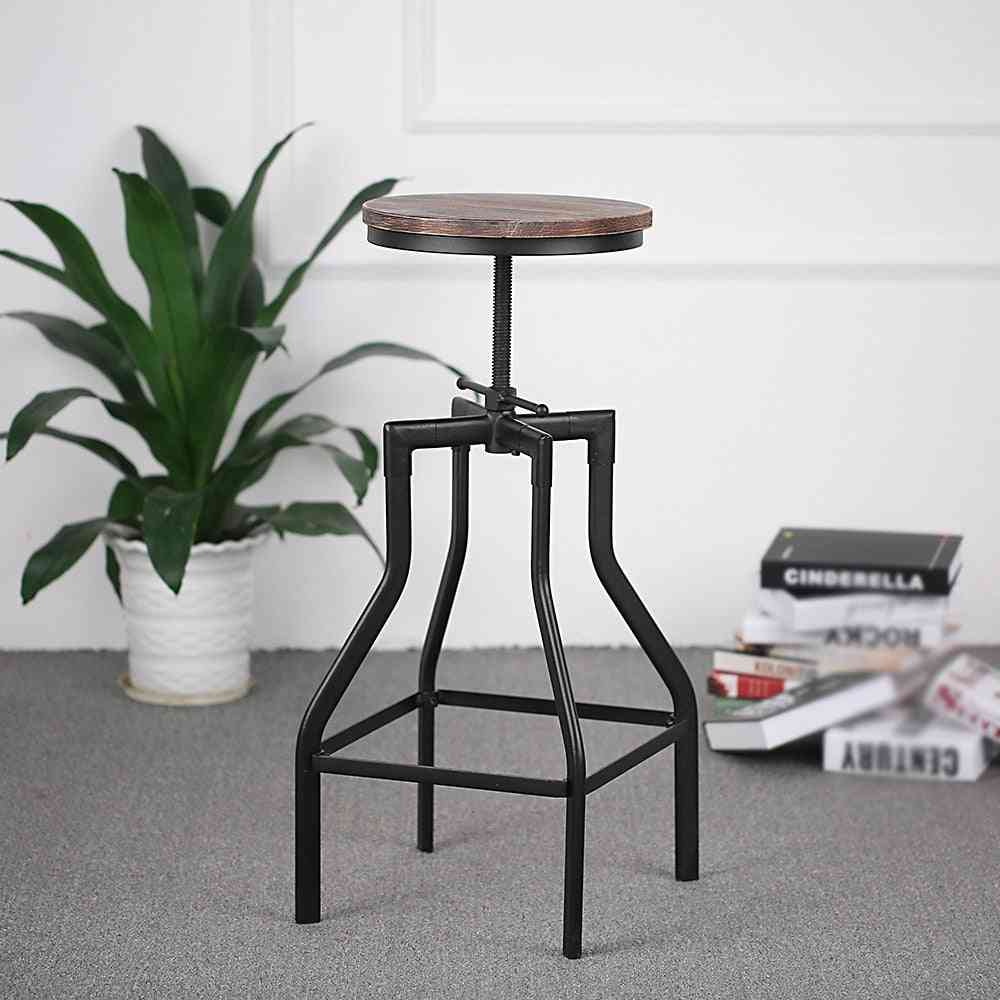 Adjustable Swivel Bar Stool & Metal Kitchen, Dining Chair
