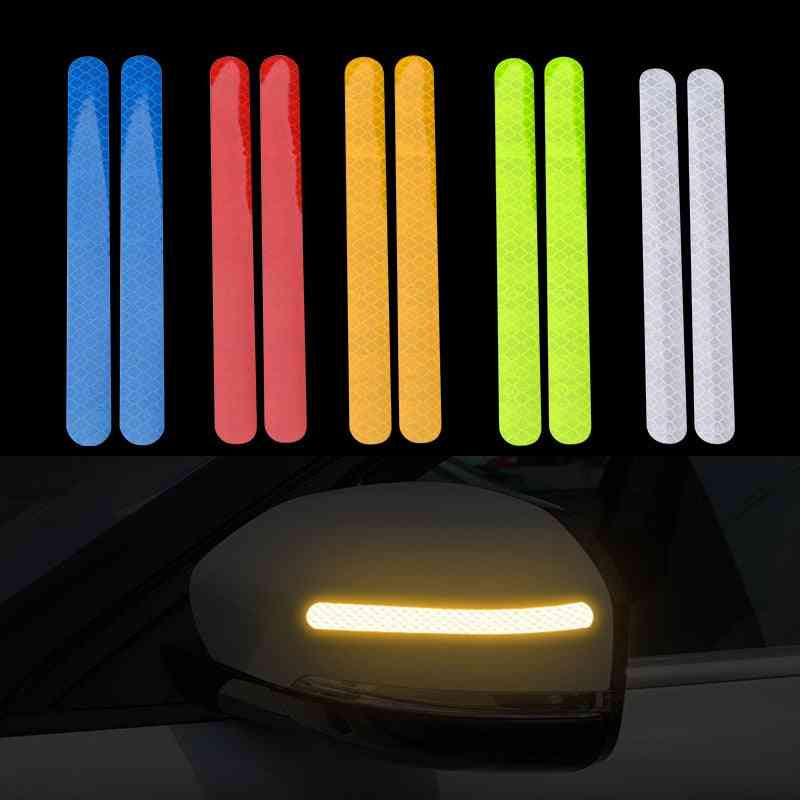 Universal Reflective Car Stickers-rear View Mirror Tape