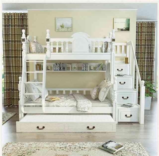 Bedroom Furniture Triple Bunk Bed