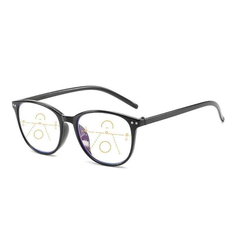 Elbru Anti-blue Light Progressive Multifocal Reading Glasses & Men