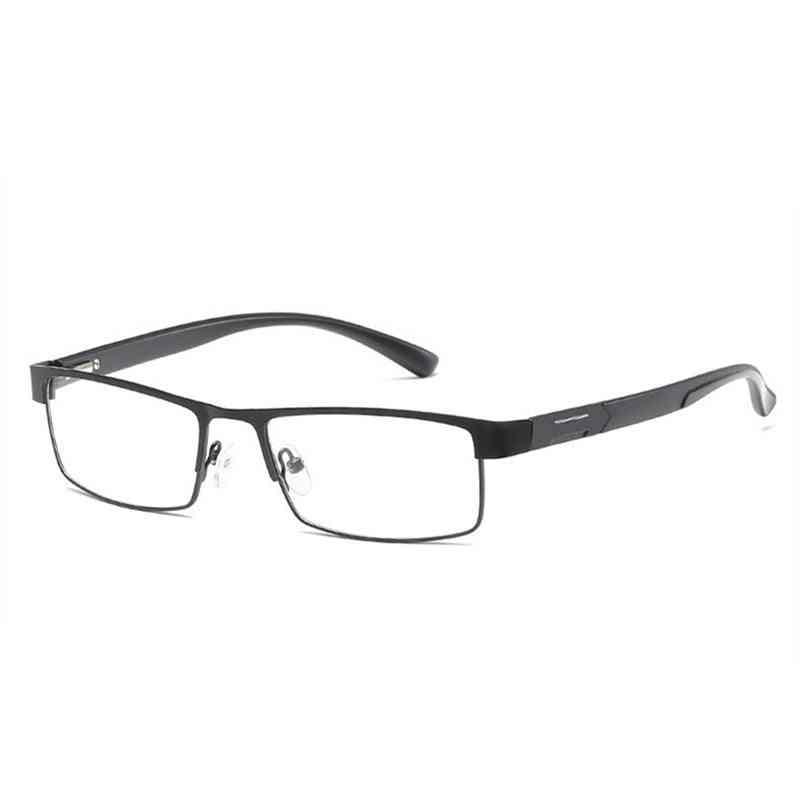 Men Titanium Alloy Non Spherical 12-layer Coated Retro Eyeglasses