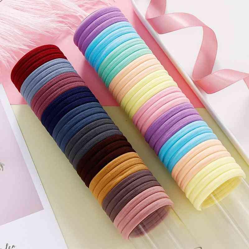 Colorful Nylon Elastic Hair Bands