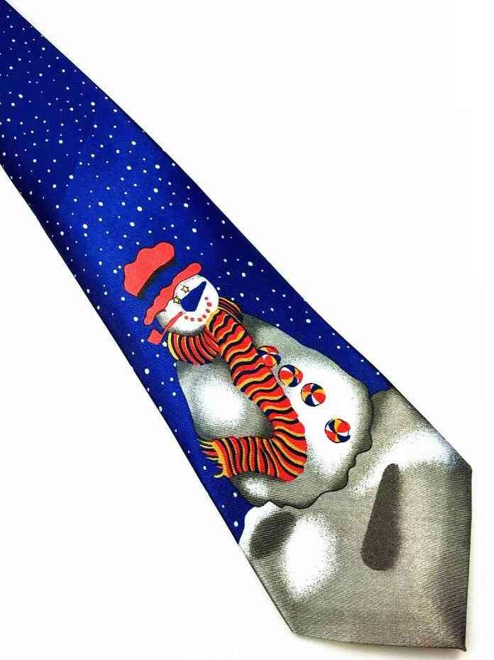 Christmas Theme Printed Necktie