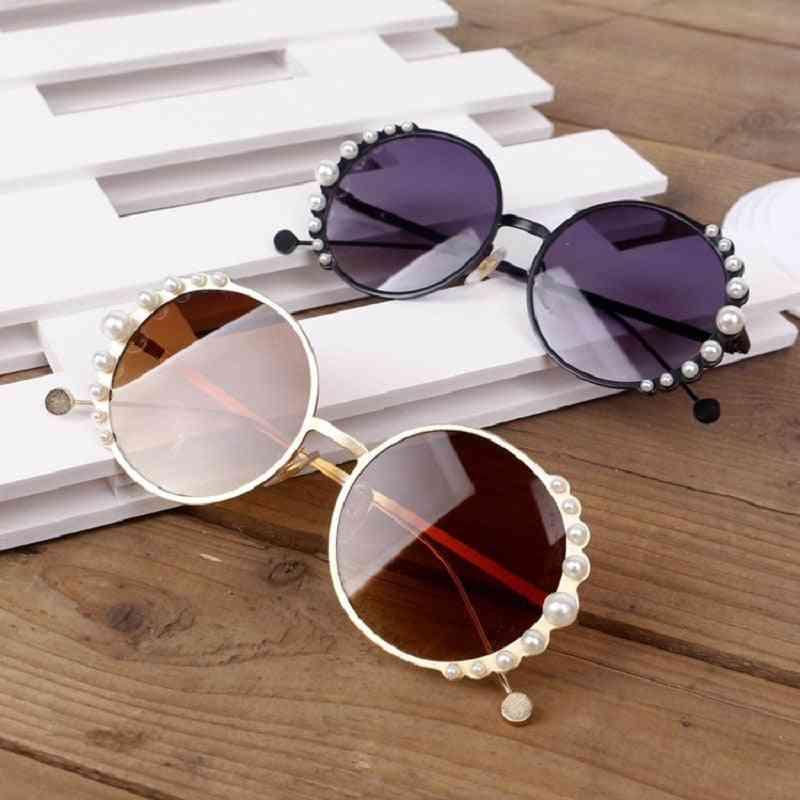 Children Pearl Sunglasses, Girl Boy Cute Eyewear