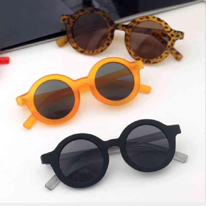 Anti-uv, Round Shaped Sun Glasses For