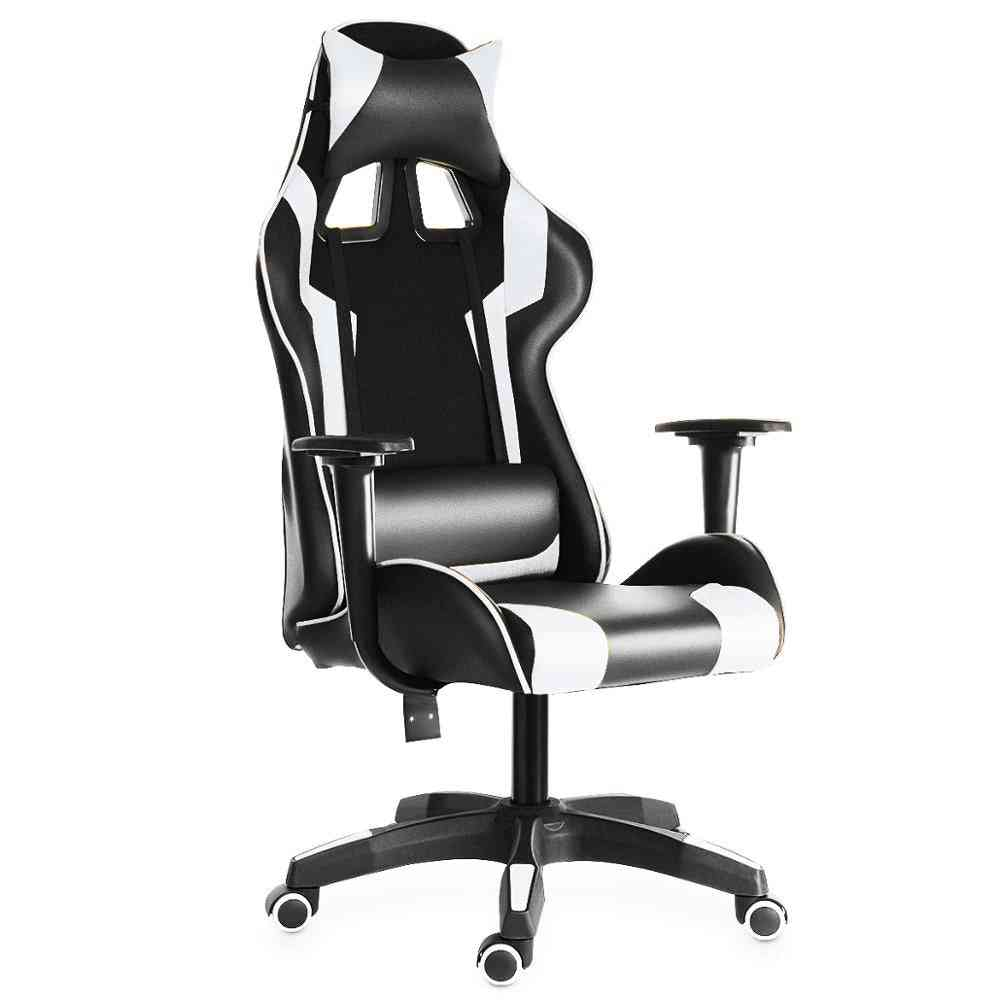 Pvc Household- Armchair Lift & Swivel Function Office, Computer Chairs