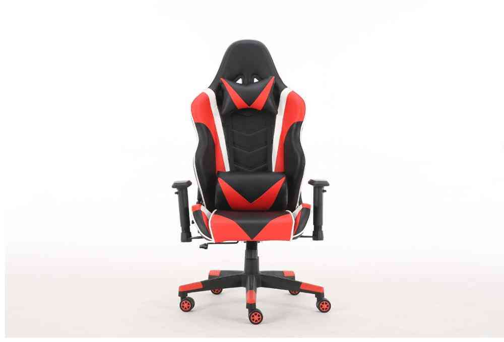 Ergonomically Designed Gaming Rotating E-sport Chair With Headrest And Waist Pillow