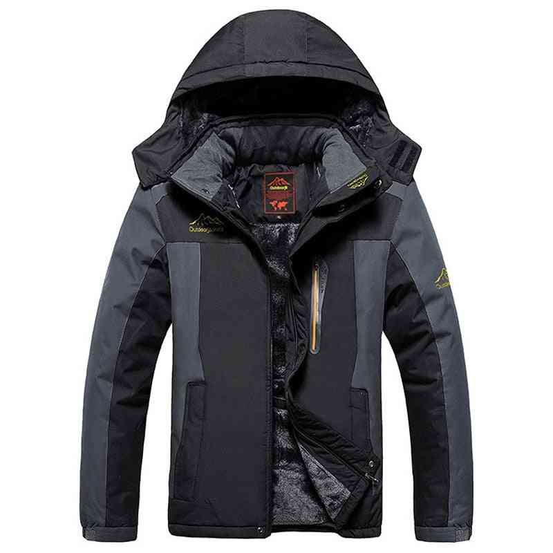 Thick Fleece, Windproof And Waterproof  Military Jackets