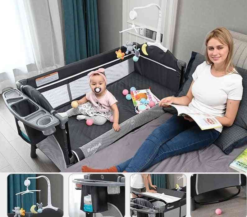 Multi-functional And Portable Folding Crib