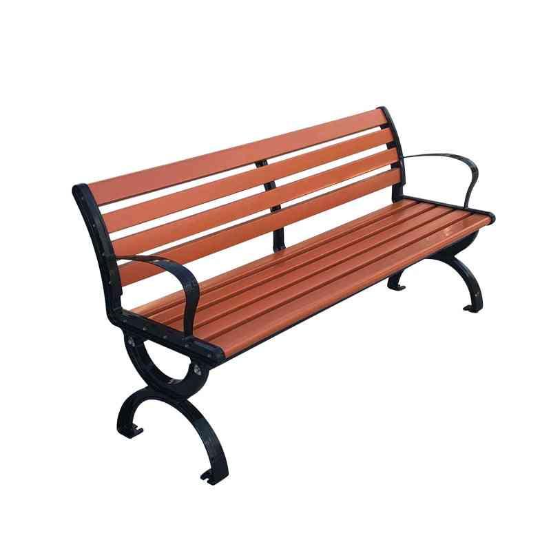 120cm Wood-plastic Outdoor Patio Bench