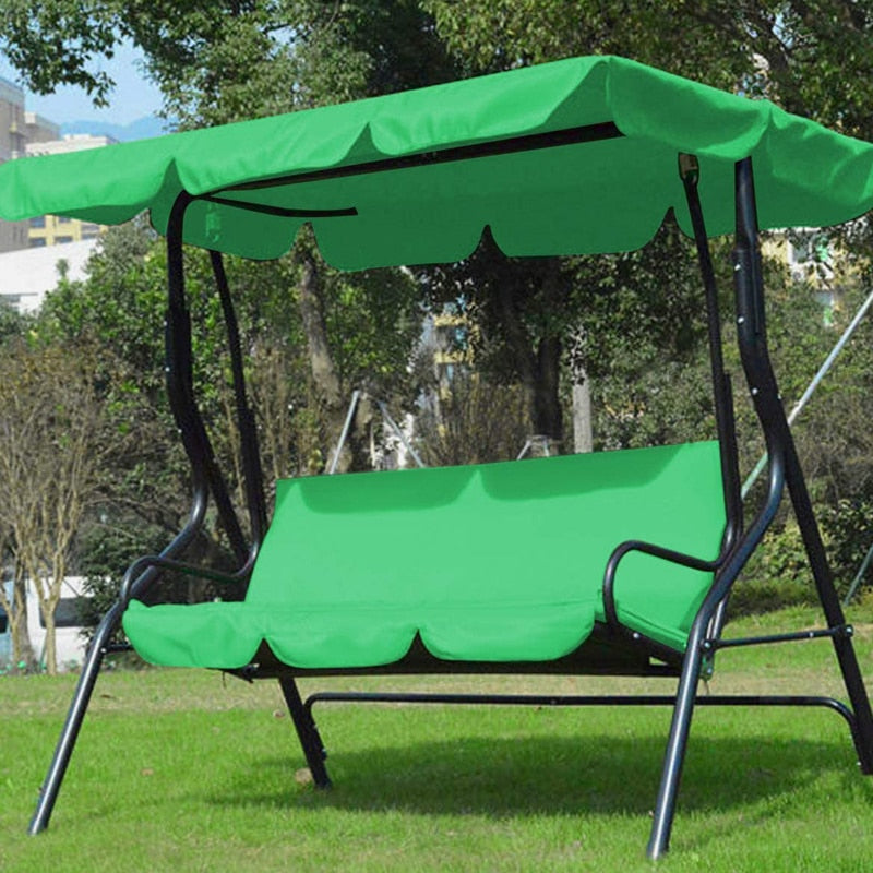 3-seater Swing Canopies And Seat Cover Set