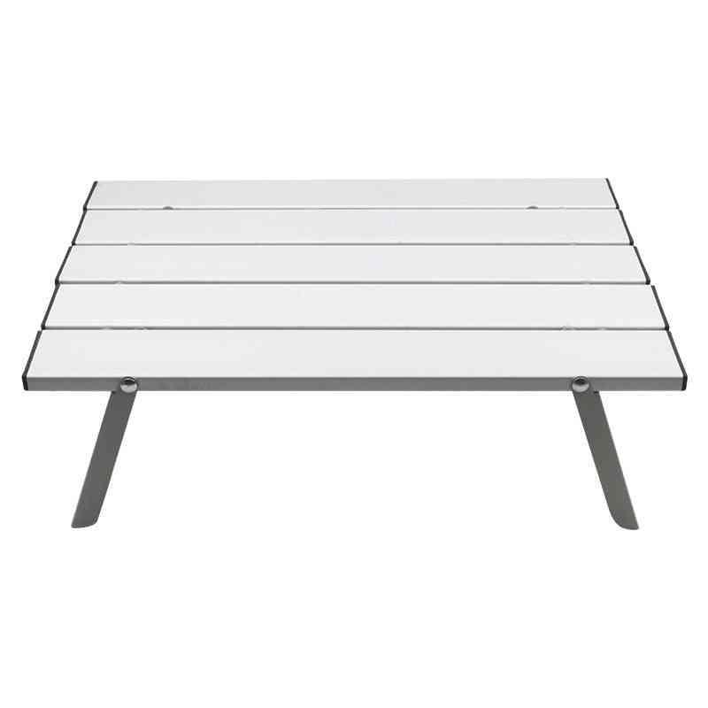 Aluminum Alloy Portable Table, Outdoor Furniture Foldable Folding Hiking Desk