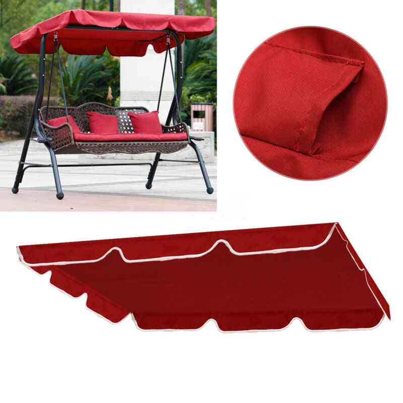 Outdoor Patio Swing Canopy-top Cover