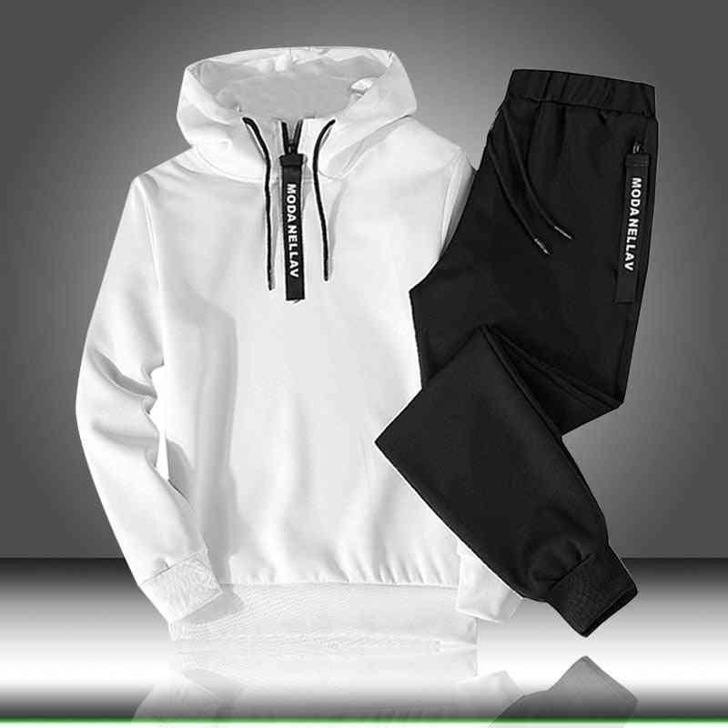 Autumn/winter Sweatshirt Drawstring Outfit, Sportswear Suit