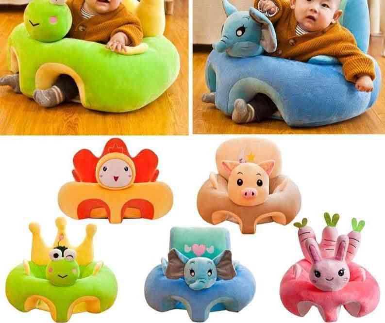 Baby Sofa Support Seat Cover For Plush Chair, Kids Learning To Sit