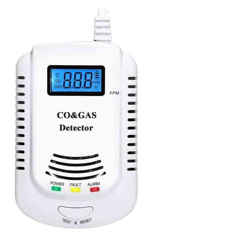 2 In 1 Co And Gas Detector With Voice Promp And Led Display