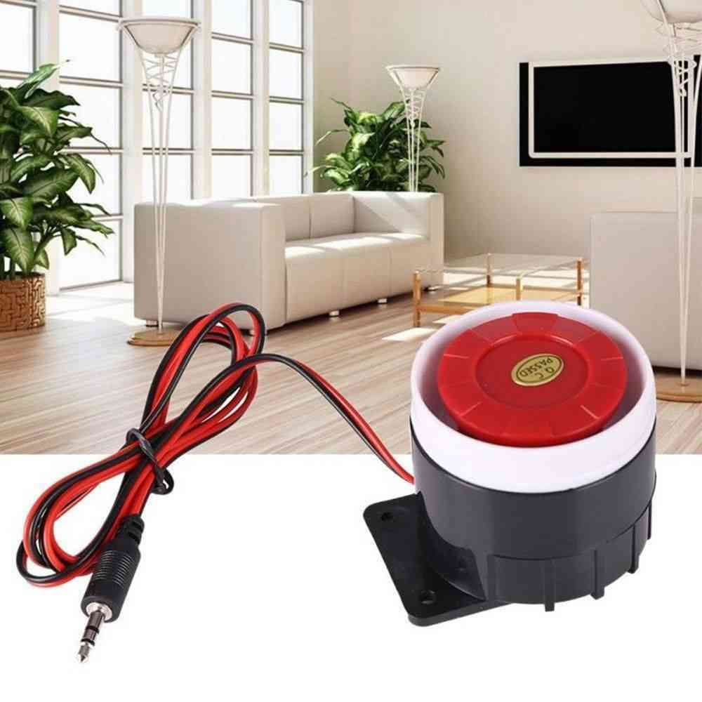Mini Indoor Loud Wired Siren For Home Security