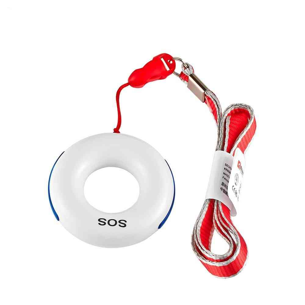 Wireless Necklace, Panic Button, Sos Key For Alarm System Security, Fall Detector