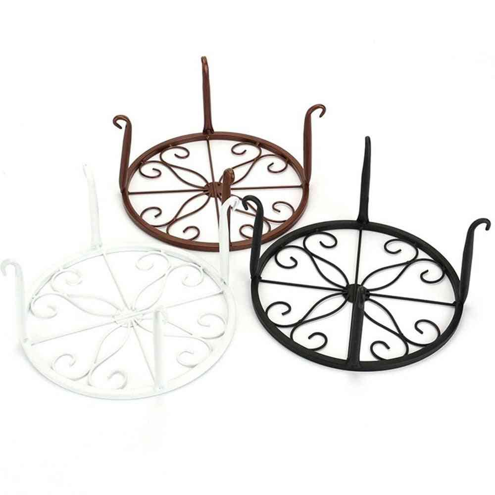 Wrought Iron, Pot Rack For Flowers Pots/ Basion Display Shelf Rack/plant Stand