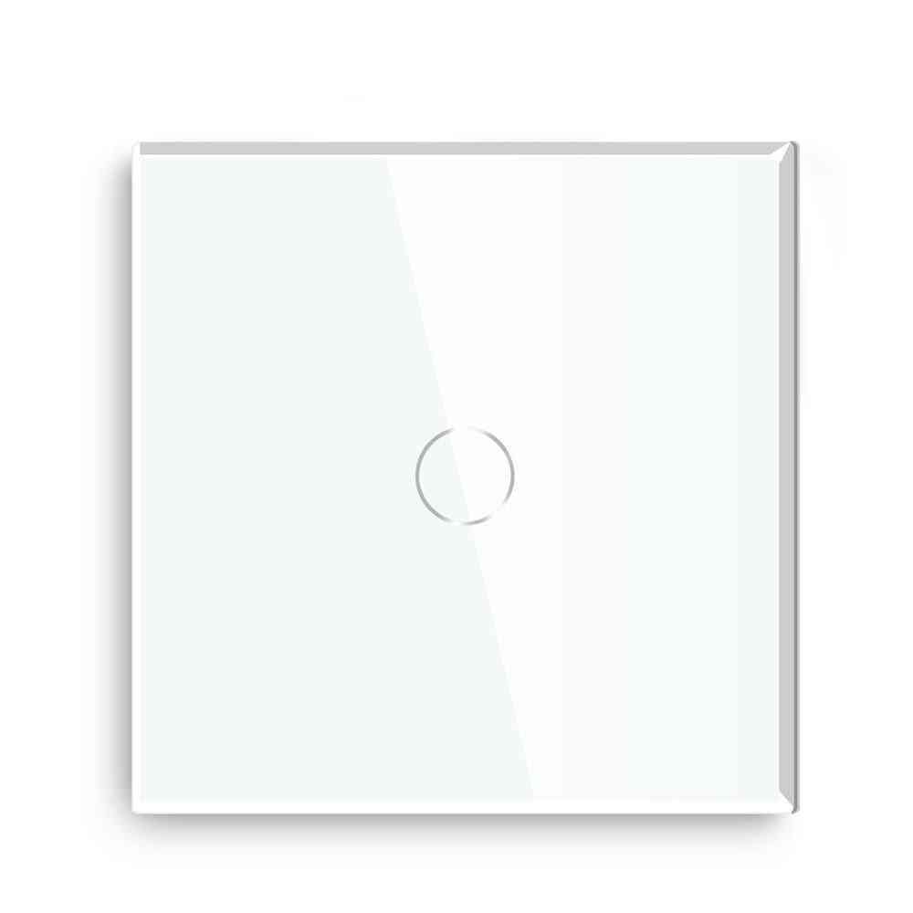 Touch Light Switch- Eu Standard, Touch Button, Sensor Switches With Glass Panel