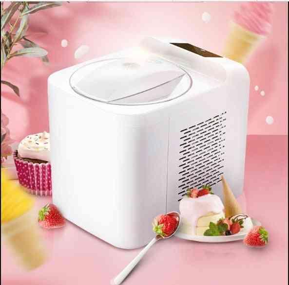 1l Full Automatic Soft Hard Ice Cream Maker Machine