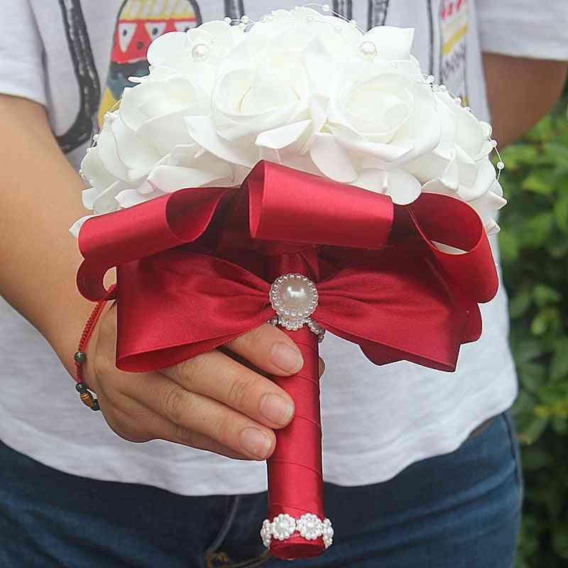 Rose Bridesmaid Foam Flowers