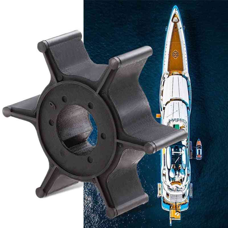Marine Water Pump Impeller Boat Engine, 6 Blade Stroke Outboard Motor