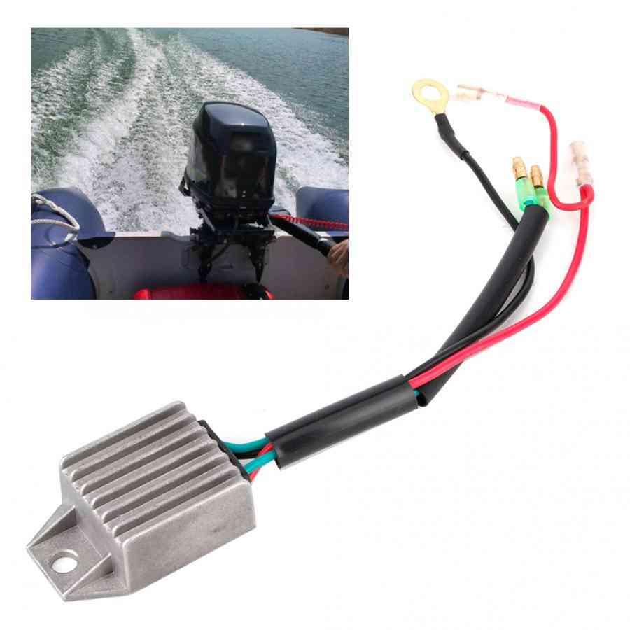 Voltage Regulator Rectifier For 2 Stroke 15hp Outboard Motor Fishing Boats Motors Voltage Stabilizer
