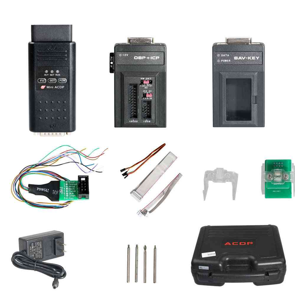 Mini Acdp Programming Master Module  For Bmw   Total 7 Authorizations