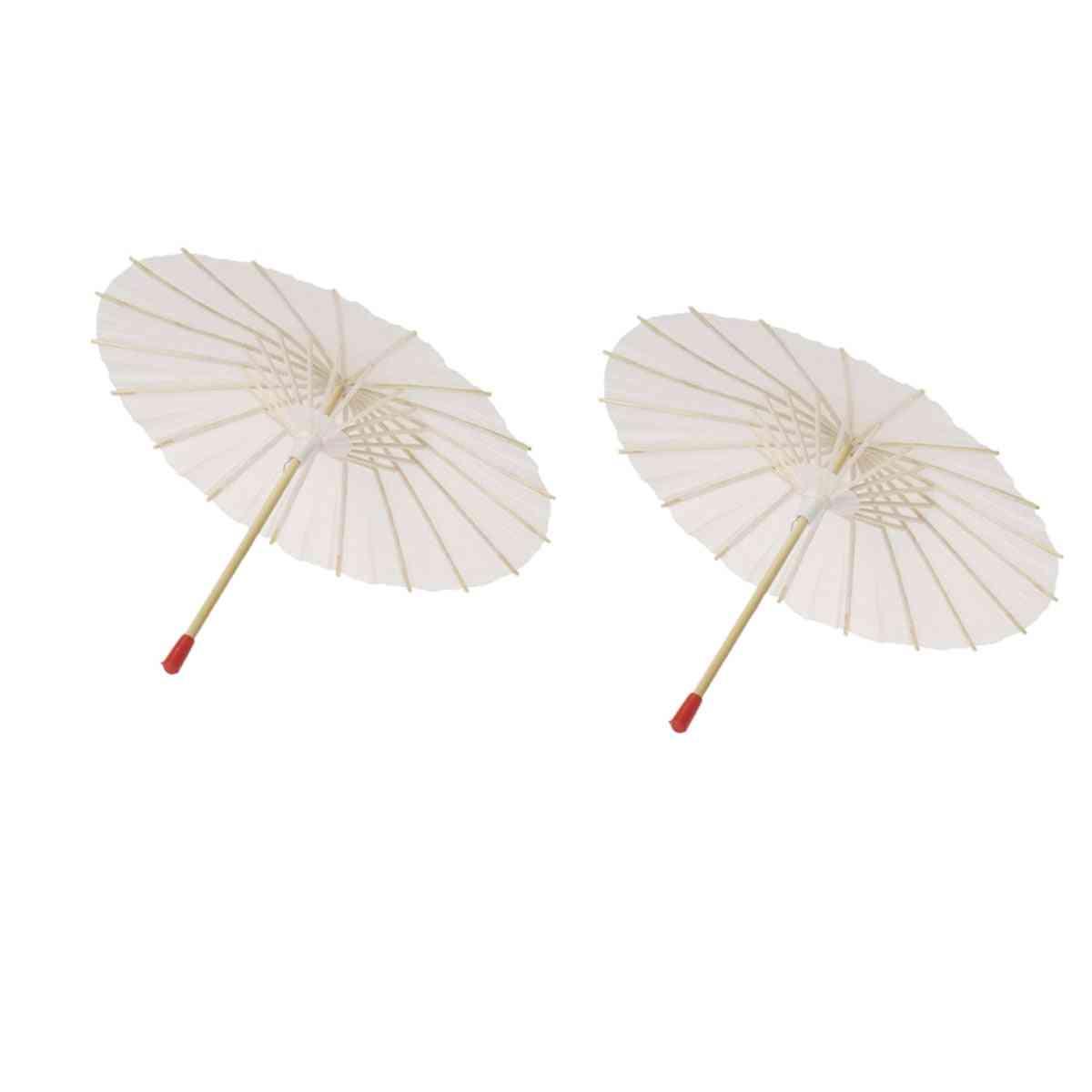 Paper Parasol Craft Decorative Umbrella For Baby Shower/anniversary/wedding/birthday
