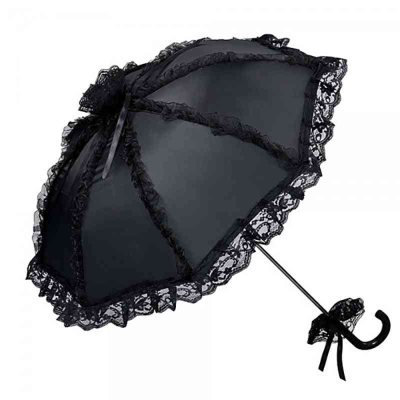Outdoor Party's, Gothic Lace Umbrella For Wedding