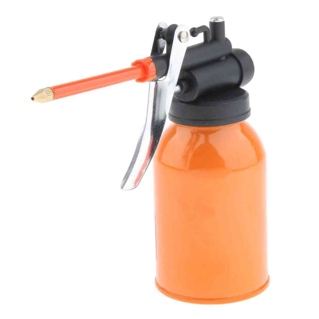 High Pressure Steel, Hand Pump Oil Pot, Spray Can For Lubricants