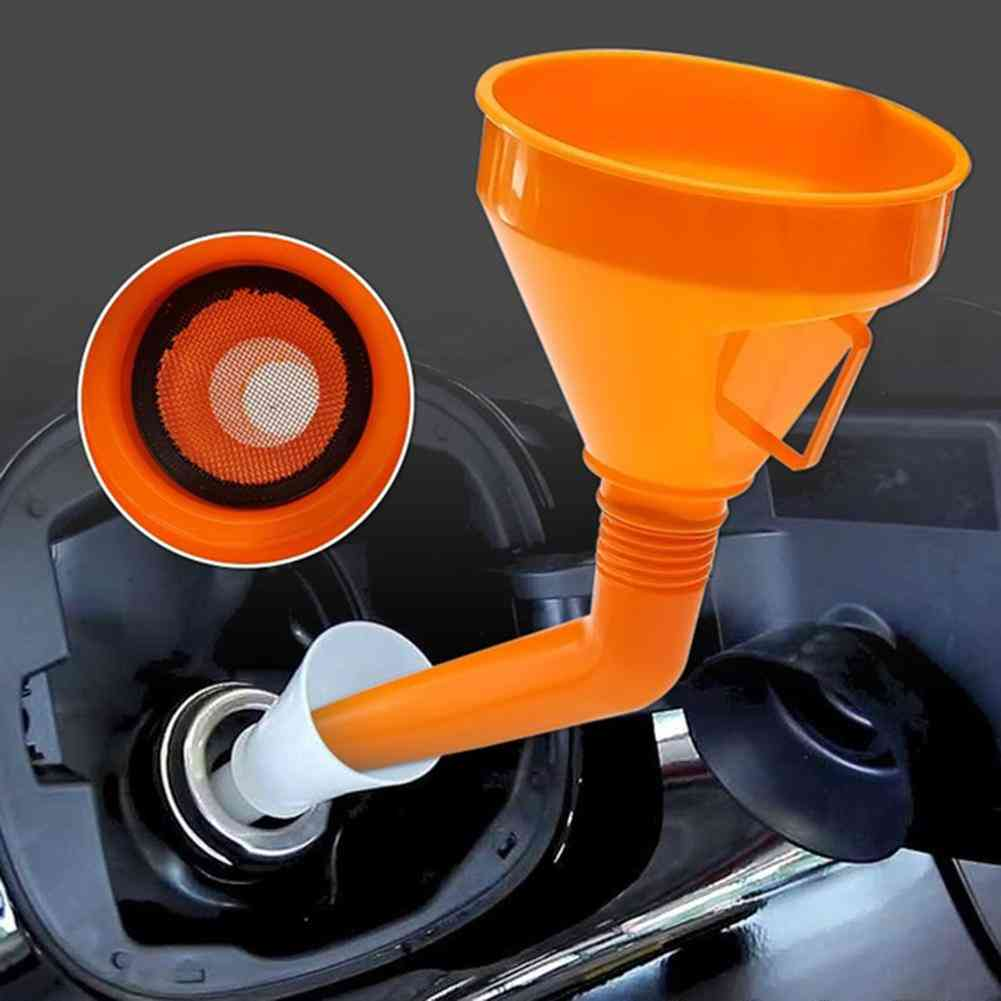 Plastic Funnel With Filter-auto Fuel Filling Equipment