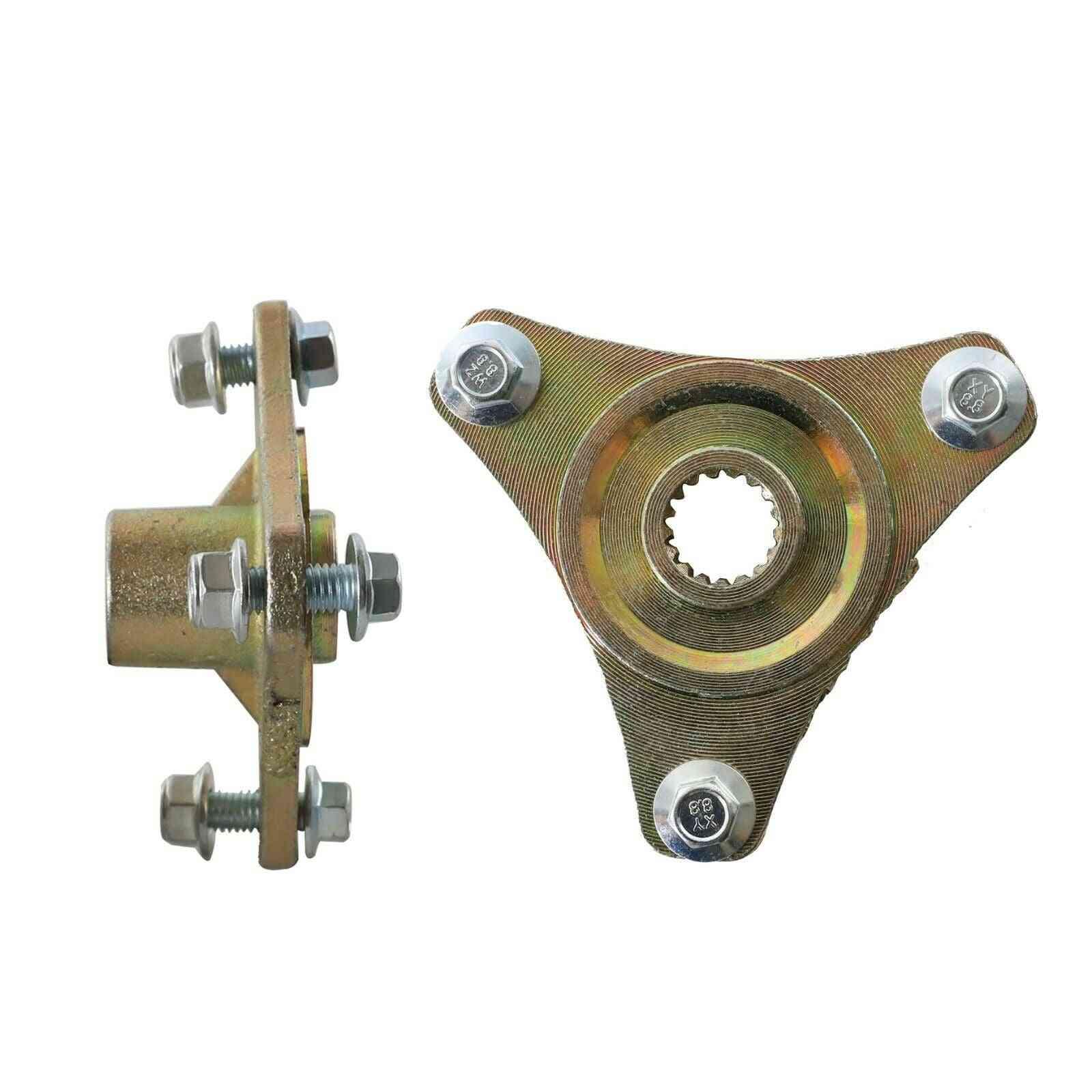 Pair 3 Stud Rear Axle Wheel Hubs For Go Kart Racing