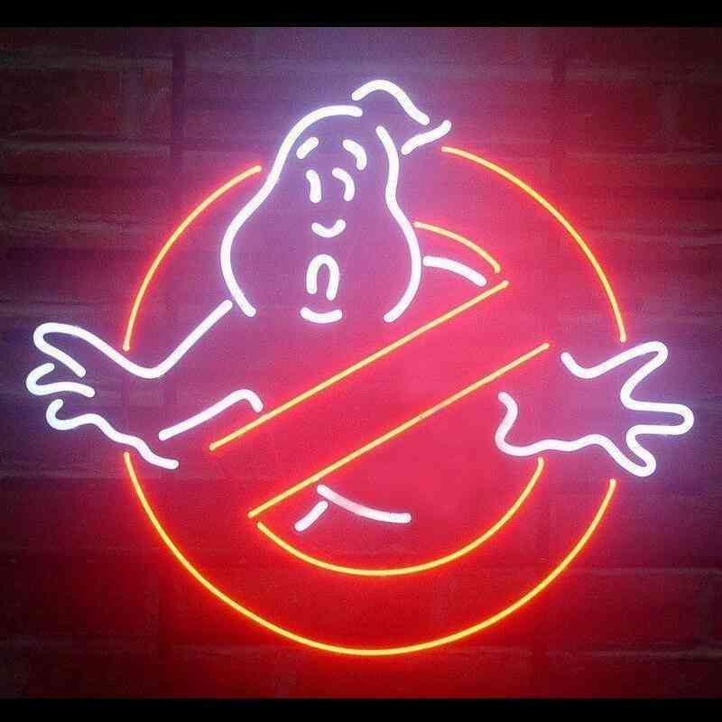 Ghost Busters - Decorative Glass Neon Light Sign