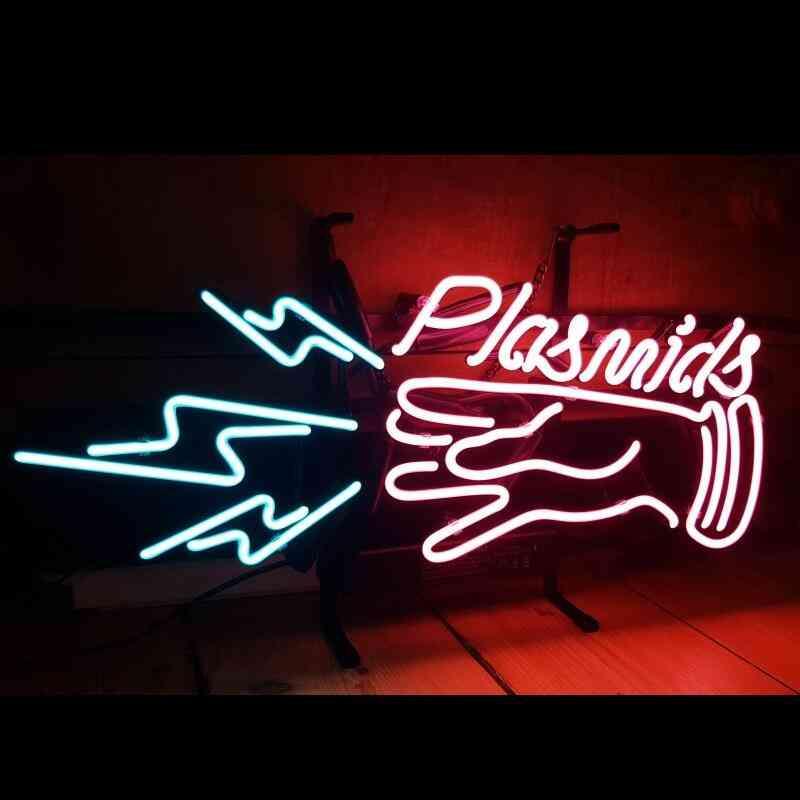 Bioshock Plasmids - Glass Neon Light Sign