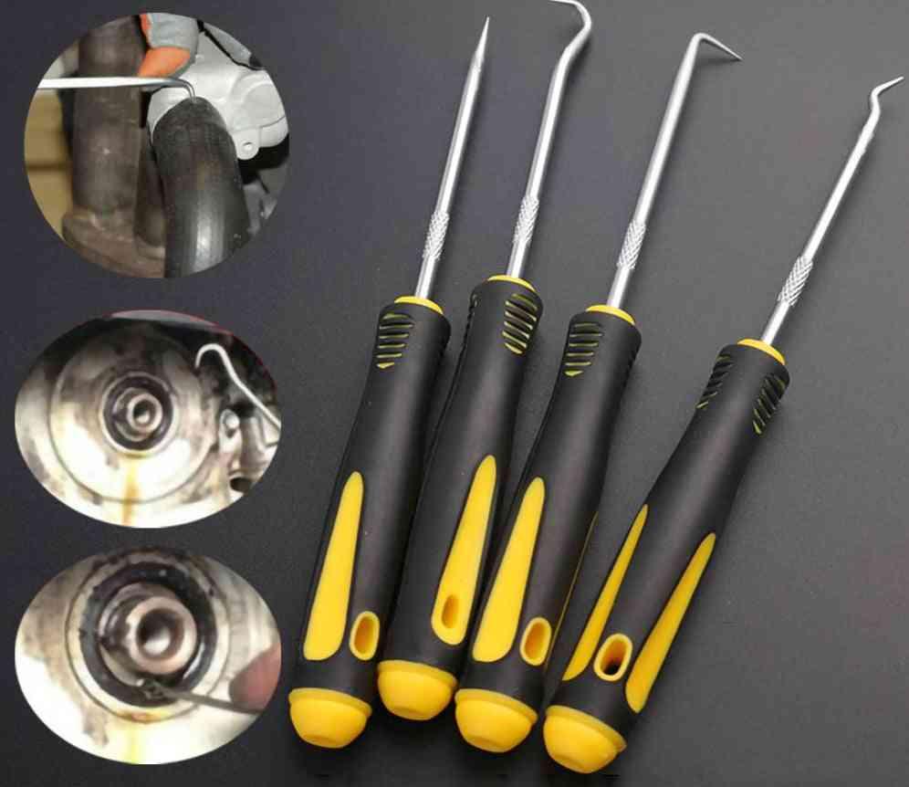 Profession Durable 4pcs Oil Seal O-ring Hook Set