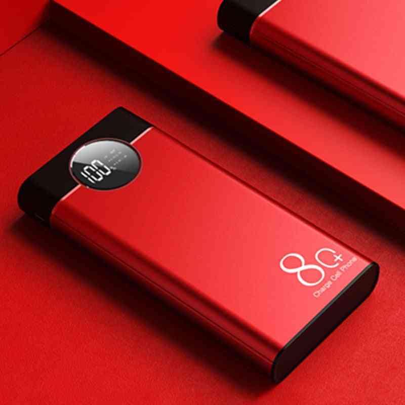80000mah Portable Usb Power Bank Phone Fast Charger