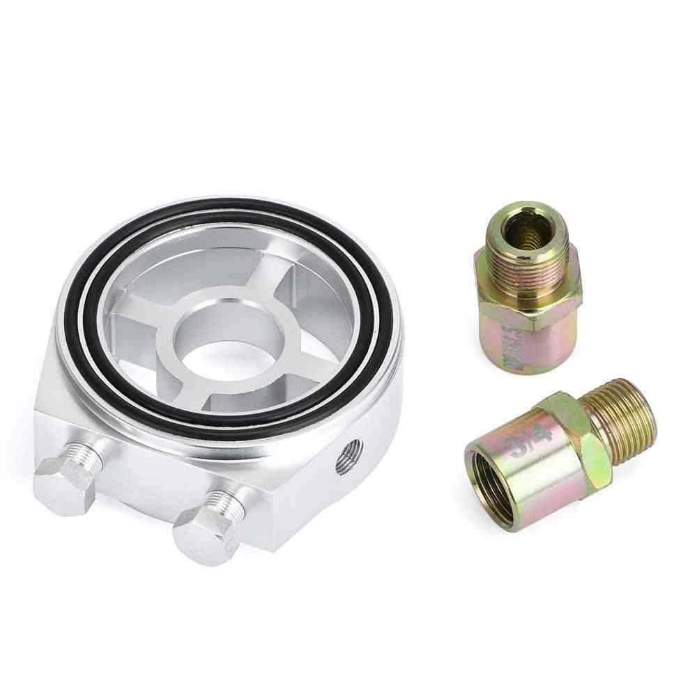 Car Oil Filter Cooler Sandwich Plate - Universal Adapter Meter Pqy6722