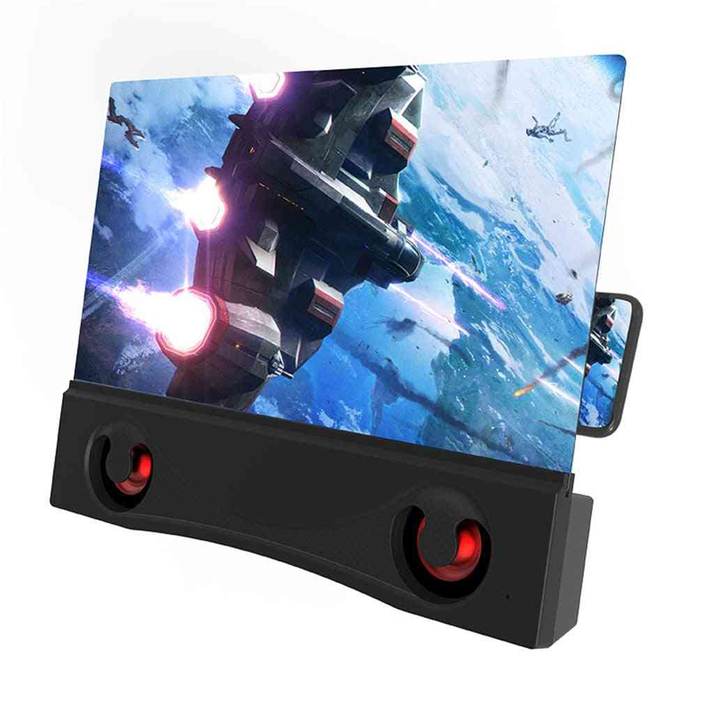 Mobile Phone Screen Amplifier, Bluetooth Eye Protection Enlarged Screens