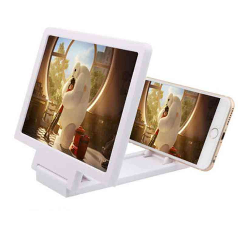 Foldable 3d Zoom Enlarged Screen Expander Non-slip Bracket Stand