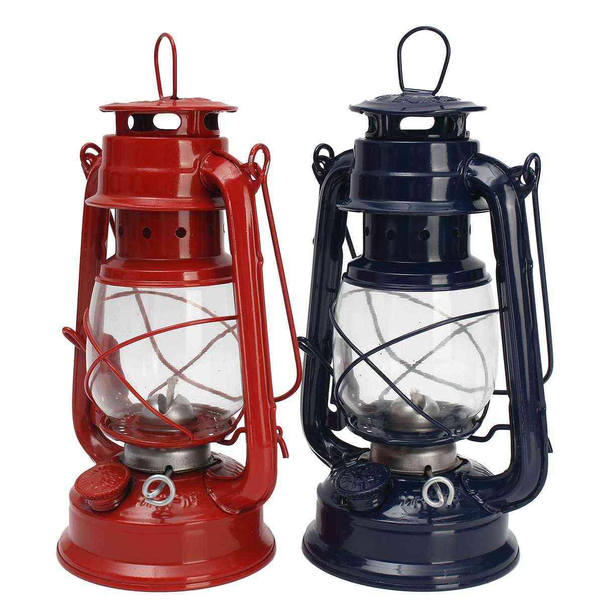 Vintage Kerosene Oil Lantern For Outdoor Camping/decor